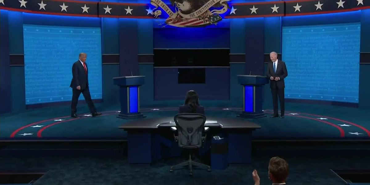 President Trump and Joe Biden square off in second and final debate of the 2020 election