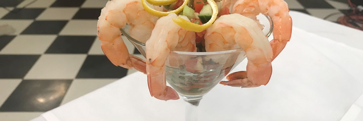Shrimp Martini Appetizer Cocktail