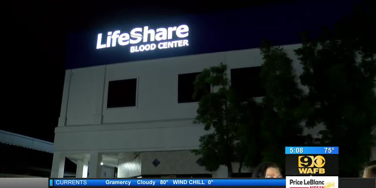 Grand opening held Tuesday for new LifeShare Blood Center - 5 a.m.