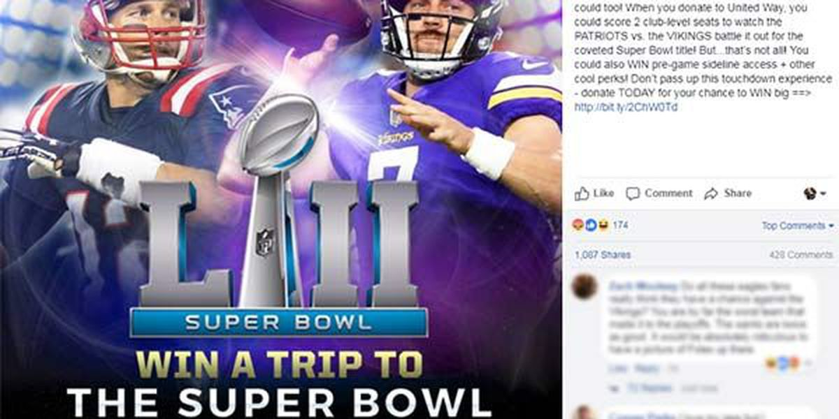 LOOK: The NFL is already advertising a Patriots vs. Vikings Super Bowl