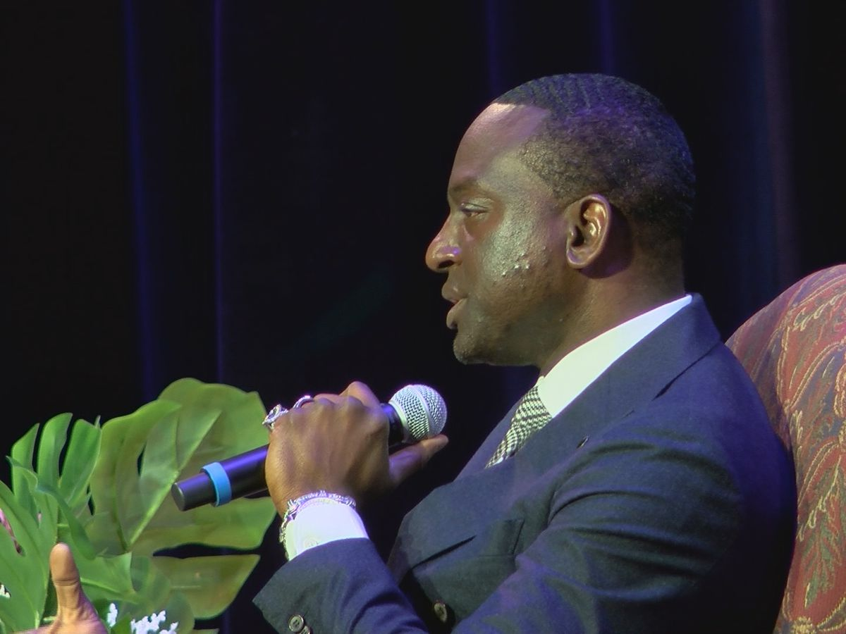 Member of Central Park Five celebrates MLK Day at LSU