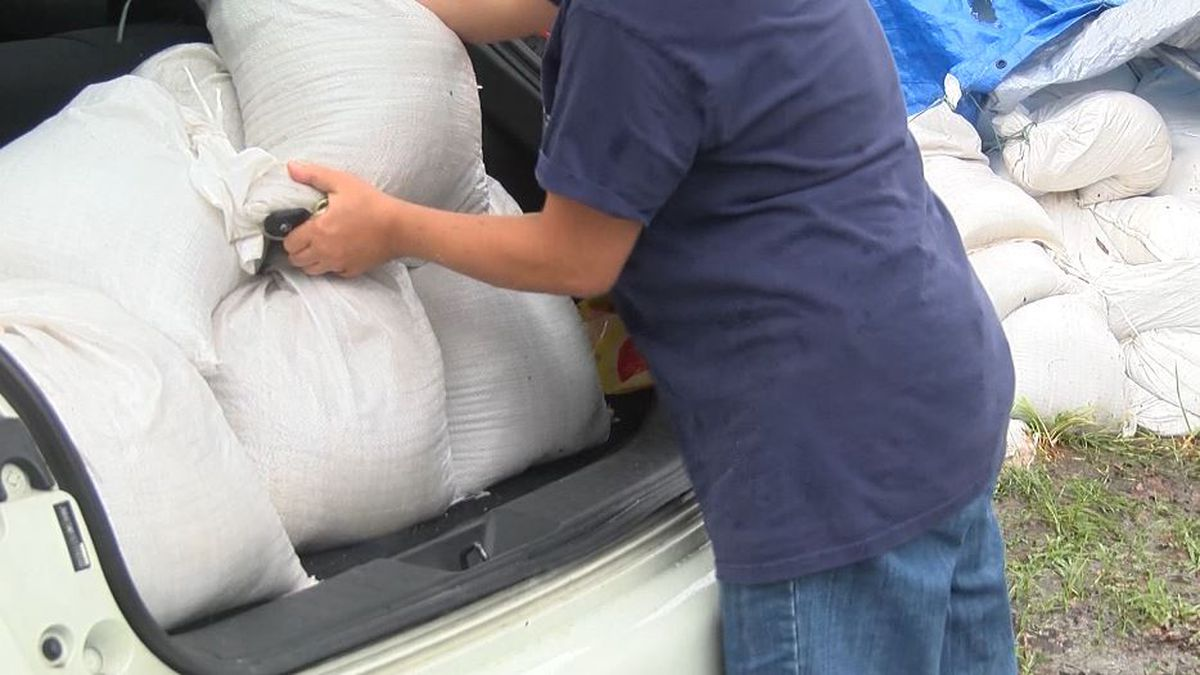 Sandbags available in East Baton Rouge Parish due to slight risk for heavy rainfall