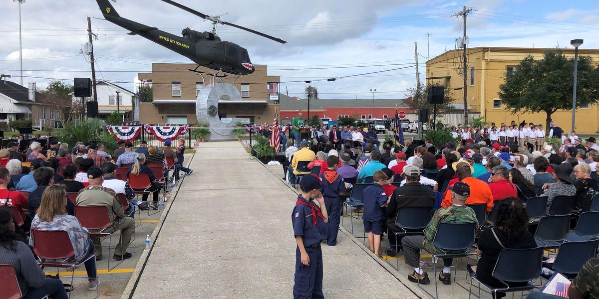 Iberville Veterans Memorial adds rare Vietnam-era Huey helicopter exhibit