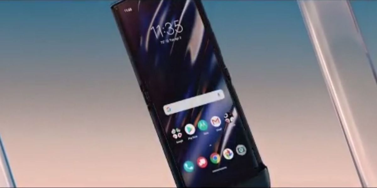 The Razr is back: Motorola flips for its futuristic foldable-screen phone