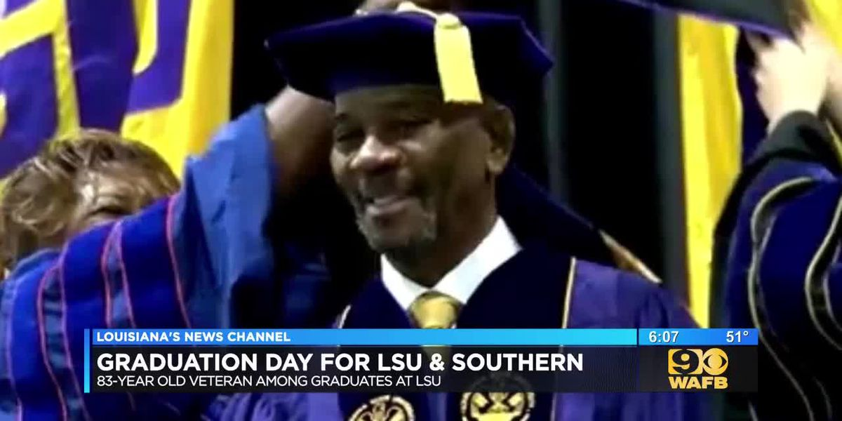 Students at LSU, SU walk across the stage for fall commencement