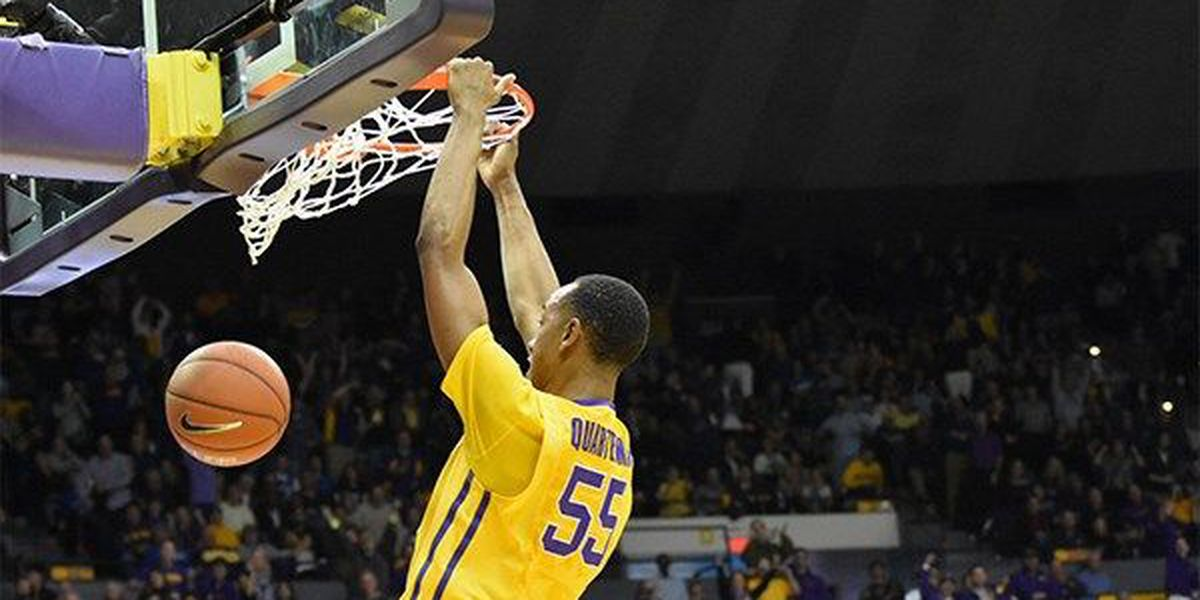 First place LSU hosts hot Alabama in the PMAC