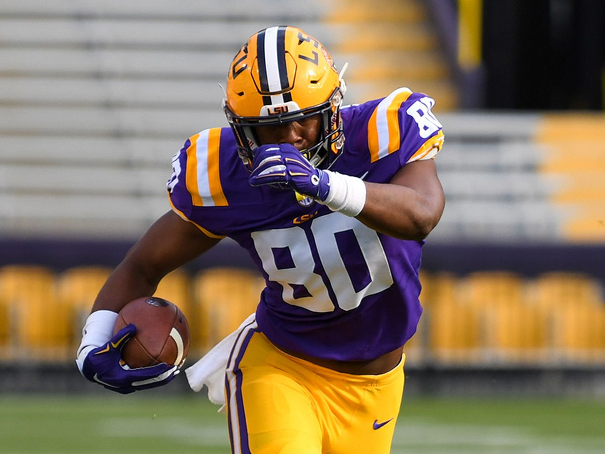 REPORT: LSU TE Jamal Pettigrew enters transfer portal