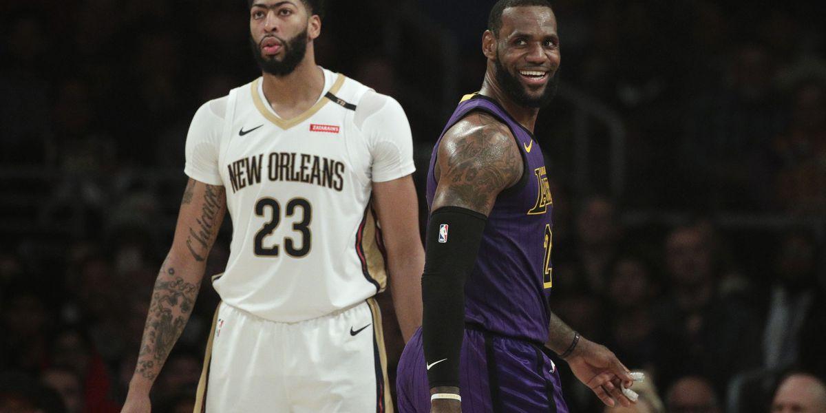 LeBron James gets triple-double, Lakers top Pelicans 112-104