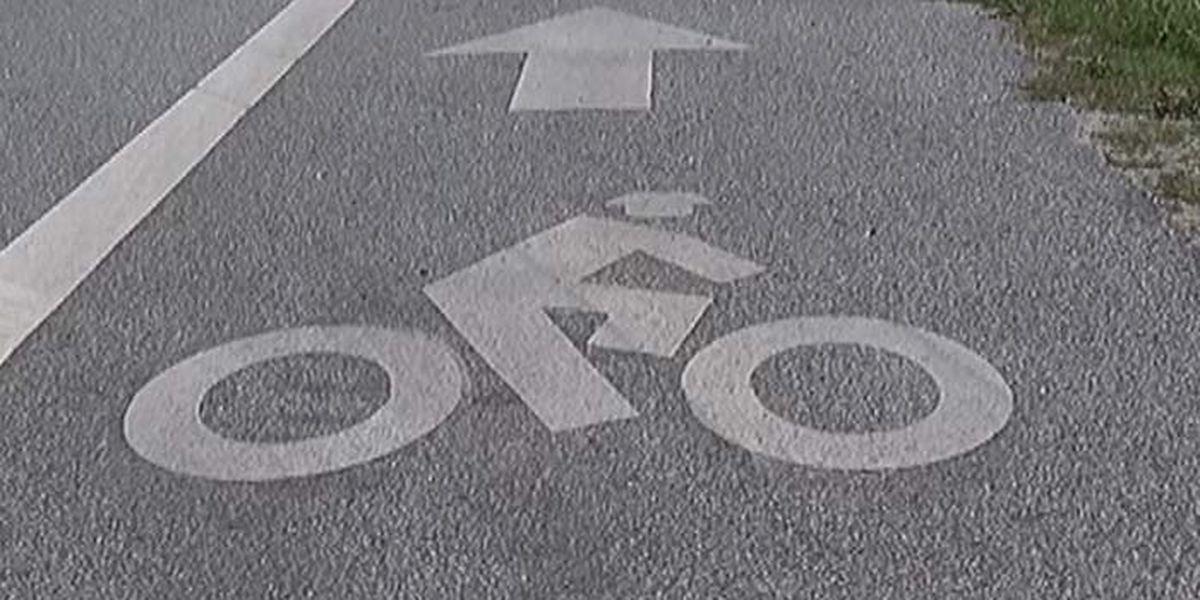 LSU adding bike lanes to improve safety on campus