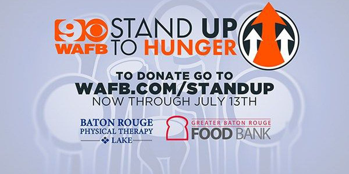 Food Bank launches Stand Up to Hunger Campaign