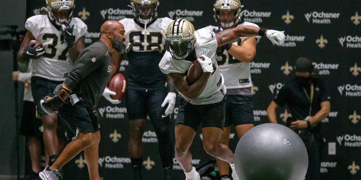 Saints running back Dwayne Washington placed on reserve/COVID-19 list
