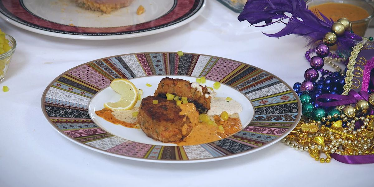 Crawfish Cakes Galatoire