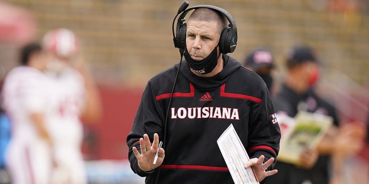 Louisiana-Lafayette head coach Billy Napier tests positive for COVID-19