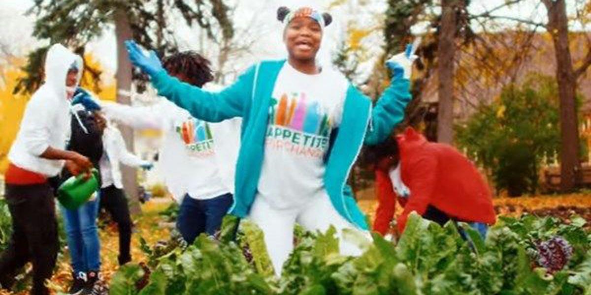 Minnesota teens make music video promoting healthy food, urban farming