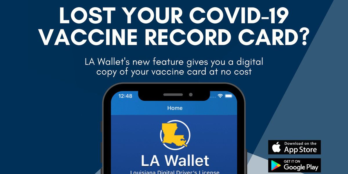 Louisiana expands LA Wallet to include an individual's COVID-19 vaccine verification