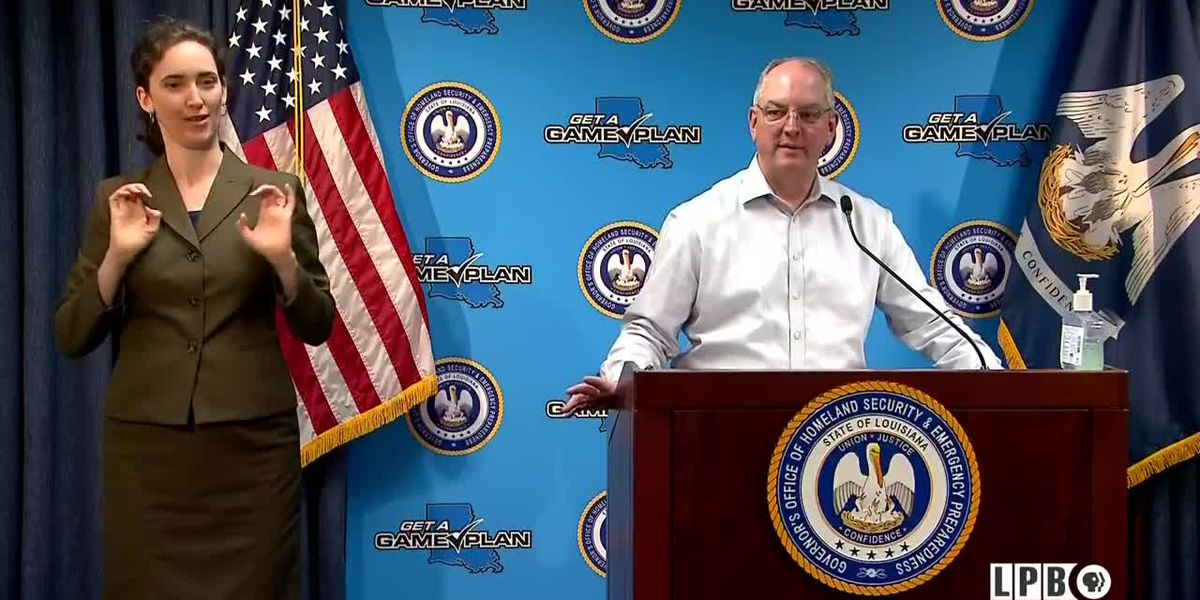 Tues., April 21: Gov. Edwards provides daily update