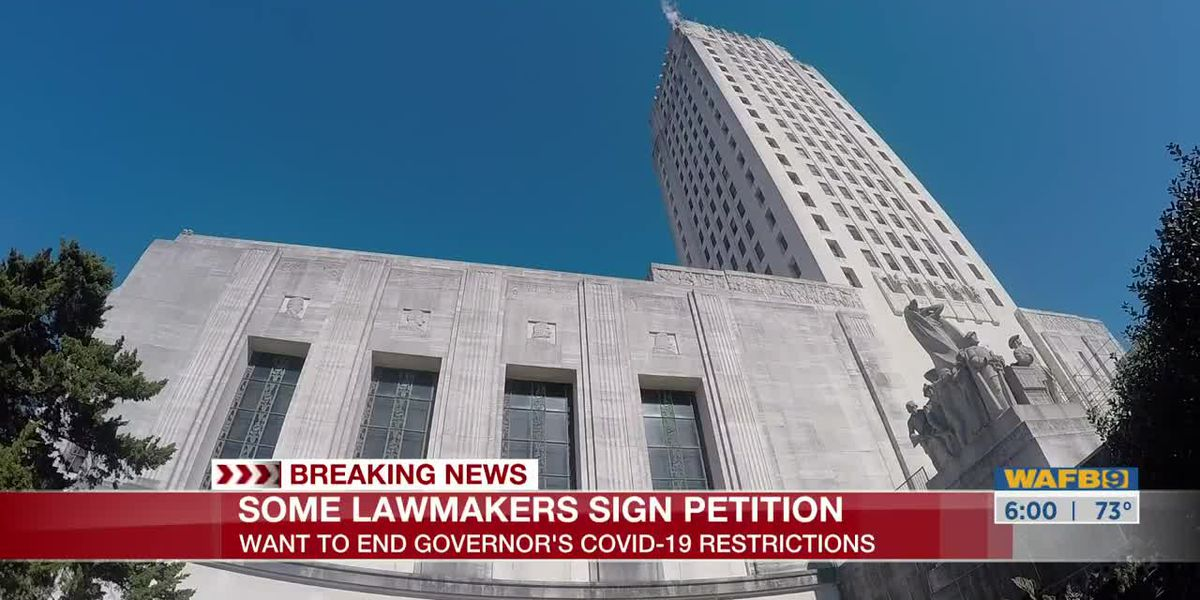 Lawmakers sign petition to overturn Louisiana's COVID-19 restrictions, Gov. Edwards fires back