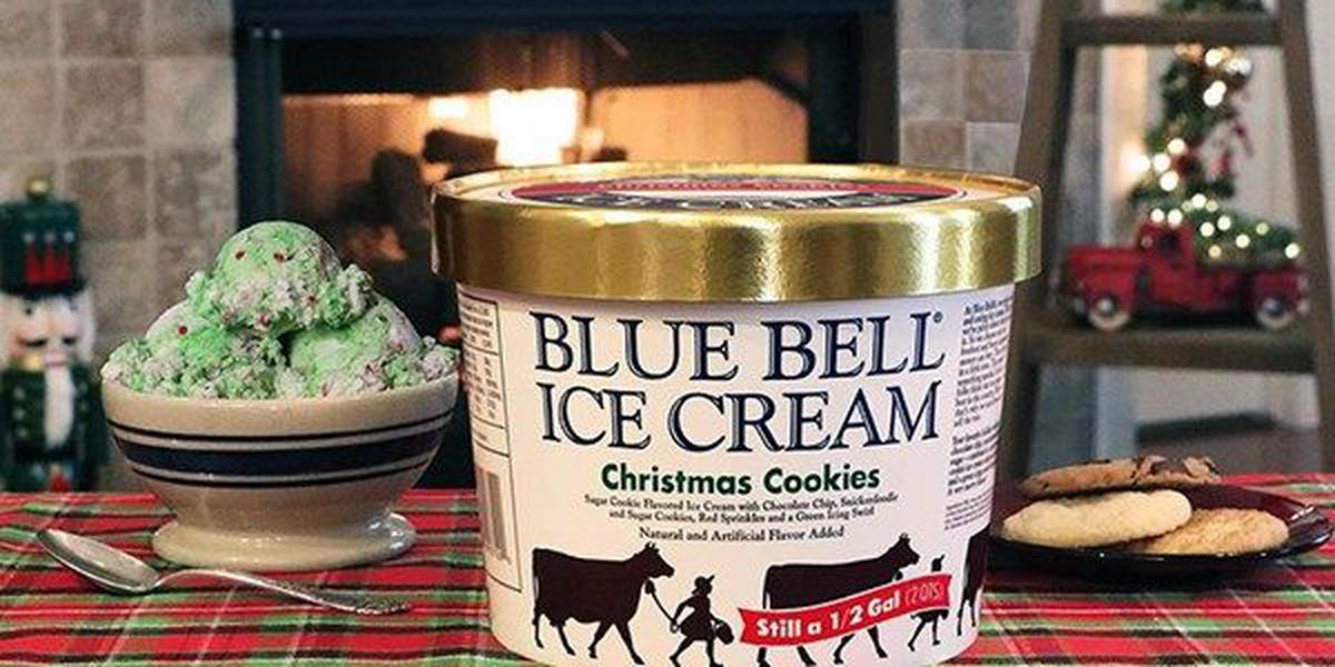 Christmas Cookie ice cream now available in stores