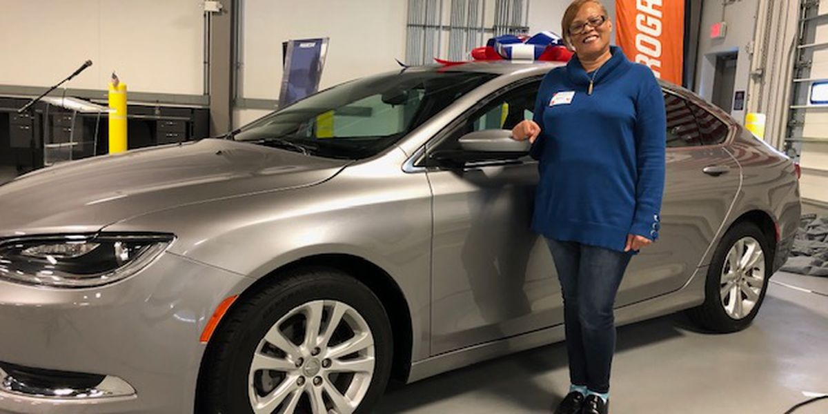 Veteran surprised with new car