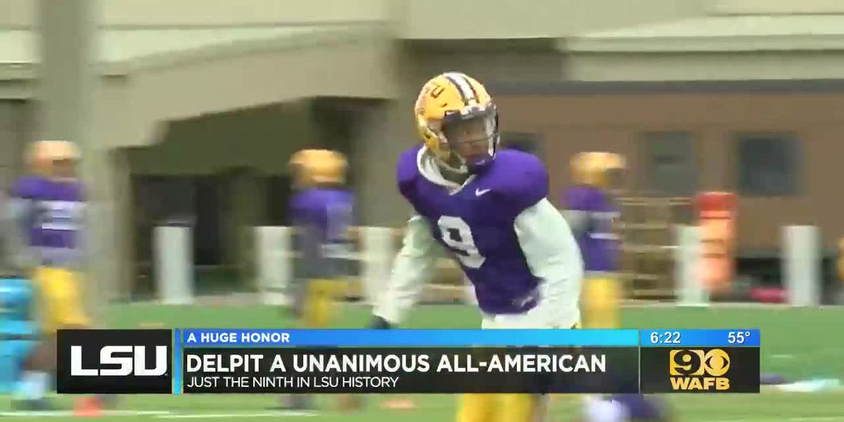 Honors for some LSU football players