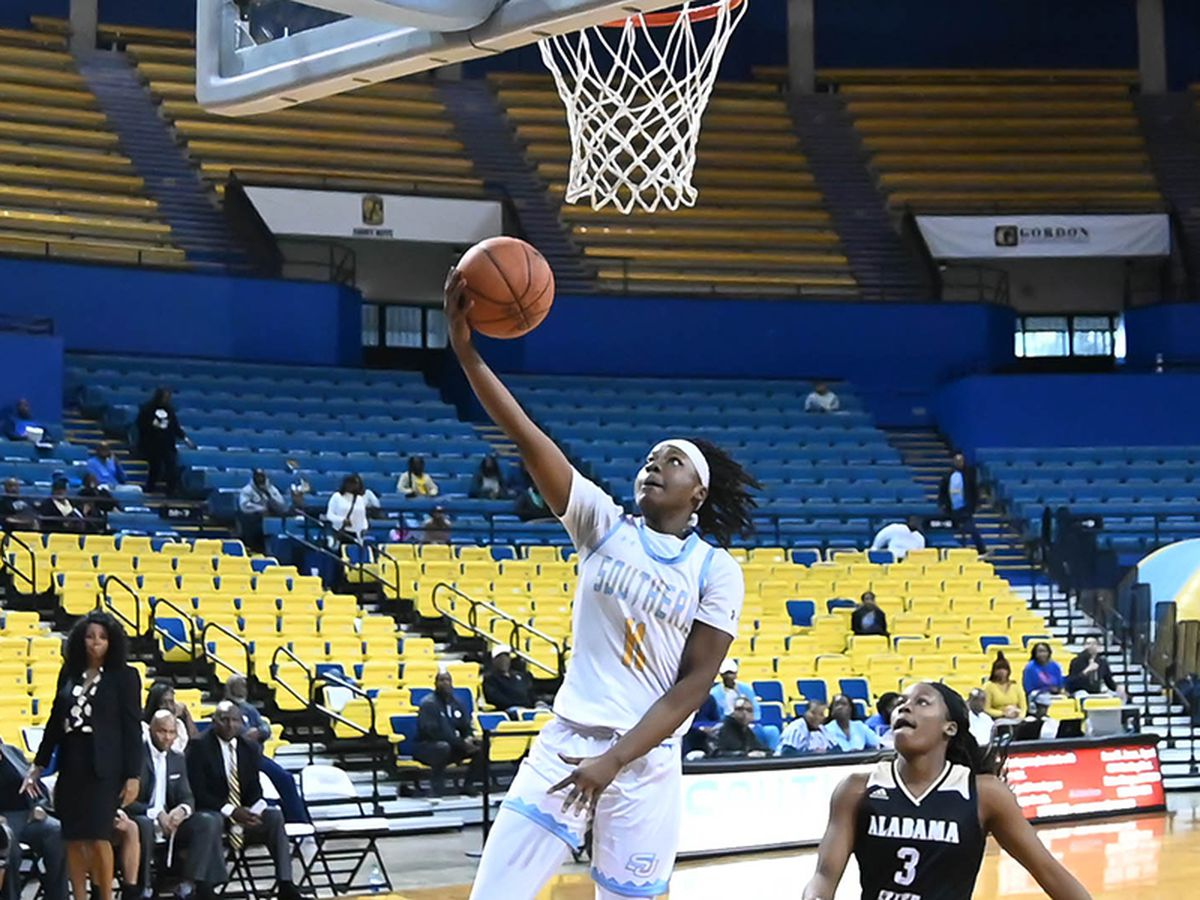 Women's Basketball: Southern dominates Alabama State