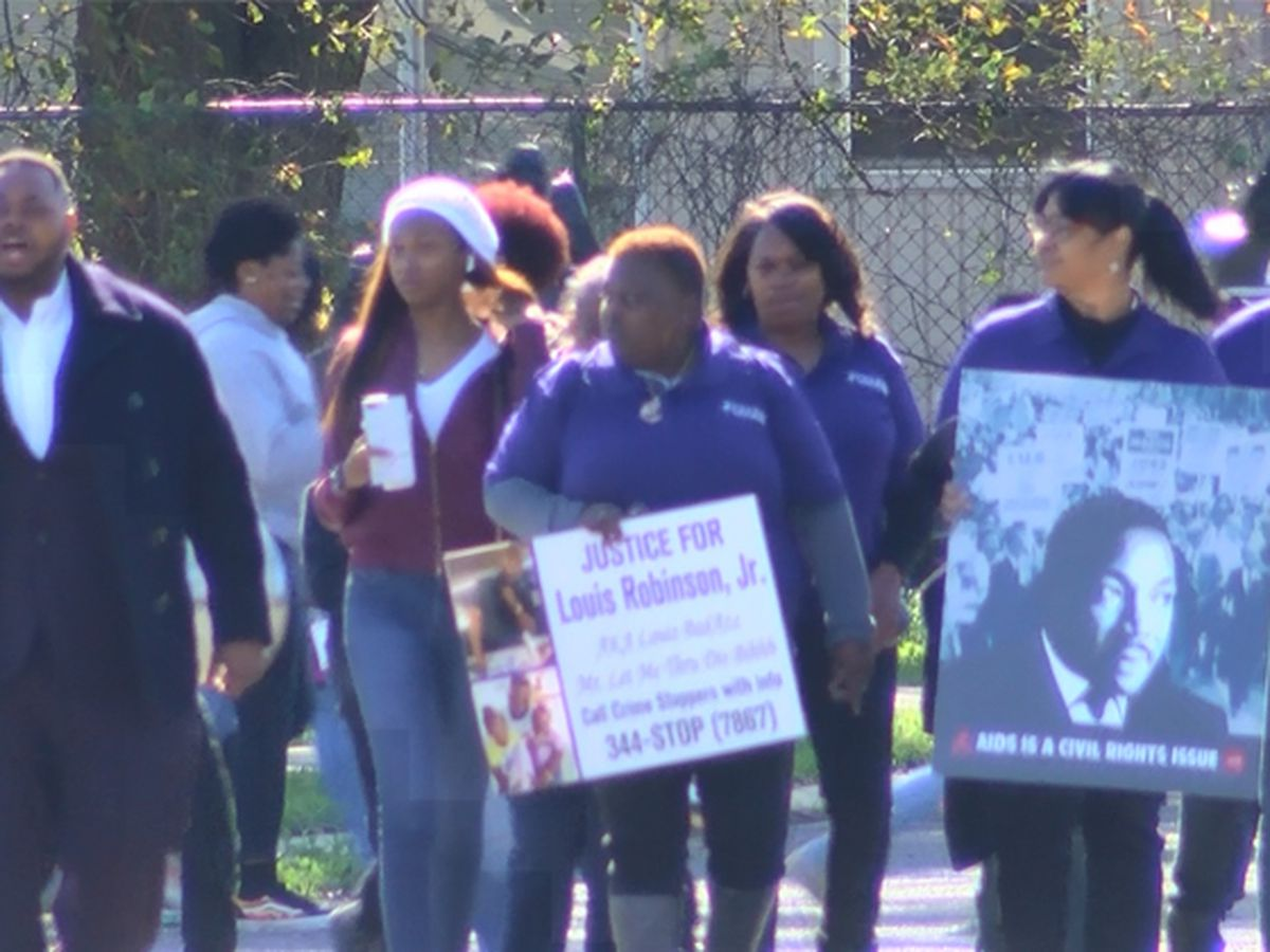 NAACP hosts peace march to honor lives lost to violence