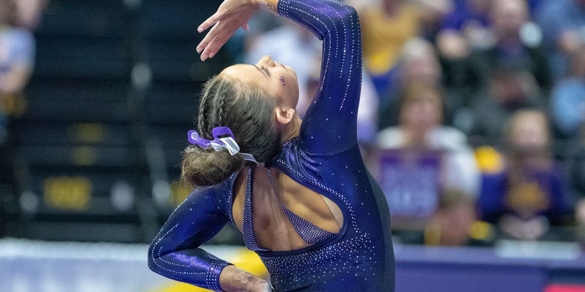 No. 5 LSU gymnastics puts up season-high score in win over No. 9 Alabama