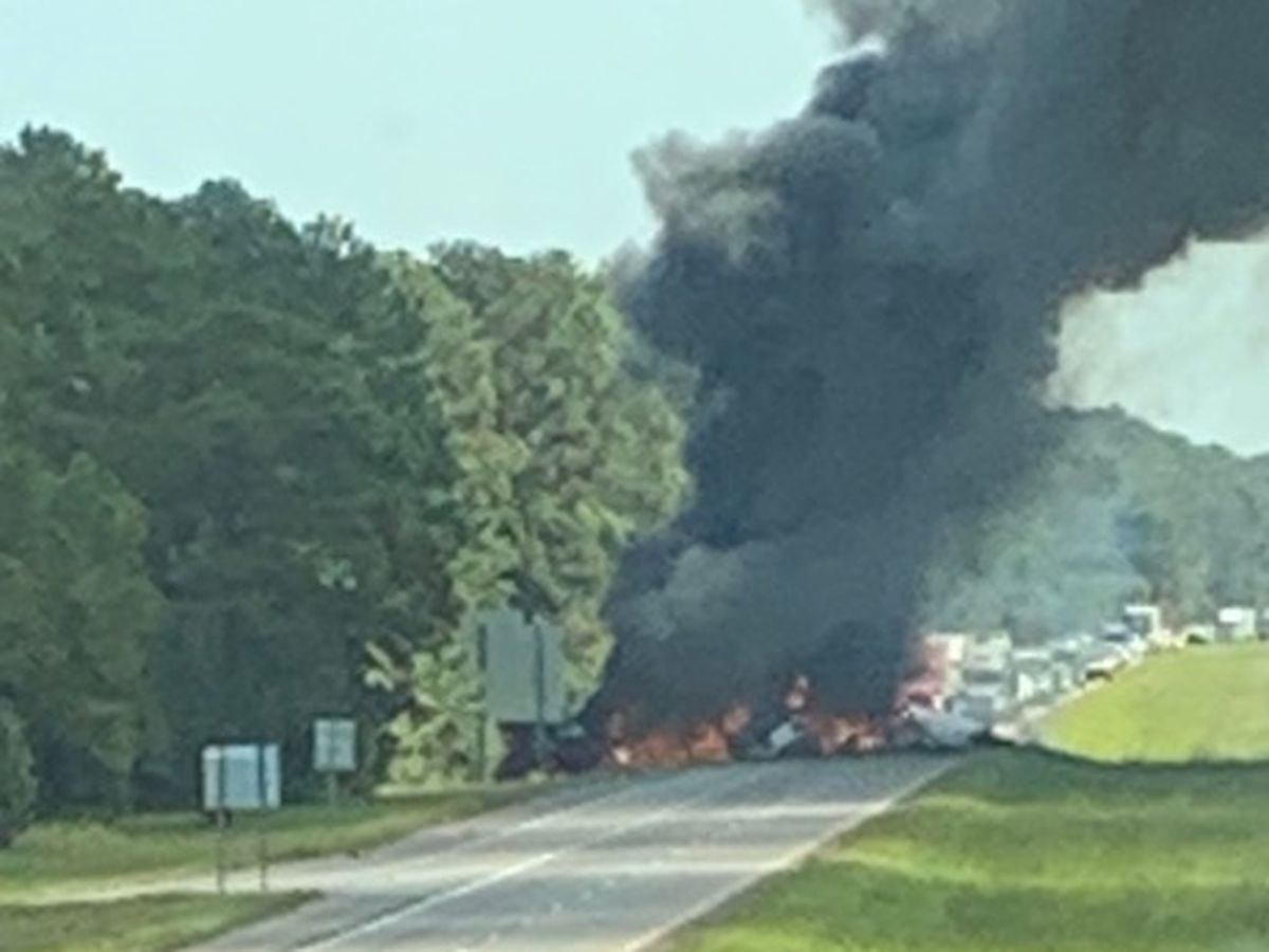 'It could have saved a life': Drivers call for barricades after fiery crash in Livingston Parish kills 2