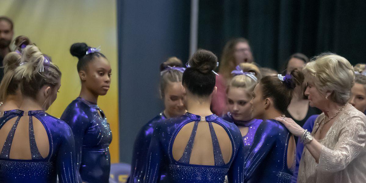 LSU gymnastics earns top seed in Baton Rouge Regional