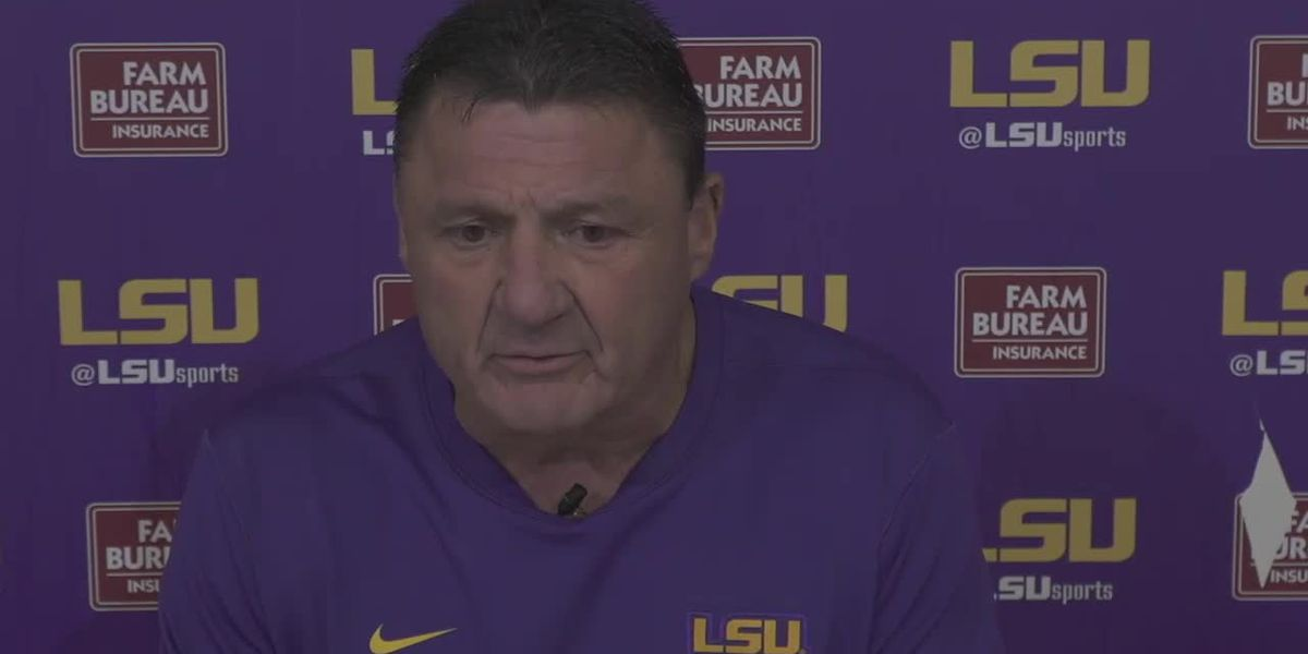 Ed Orgeron - 12/19/20 (Full Interview)