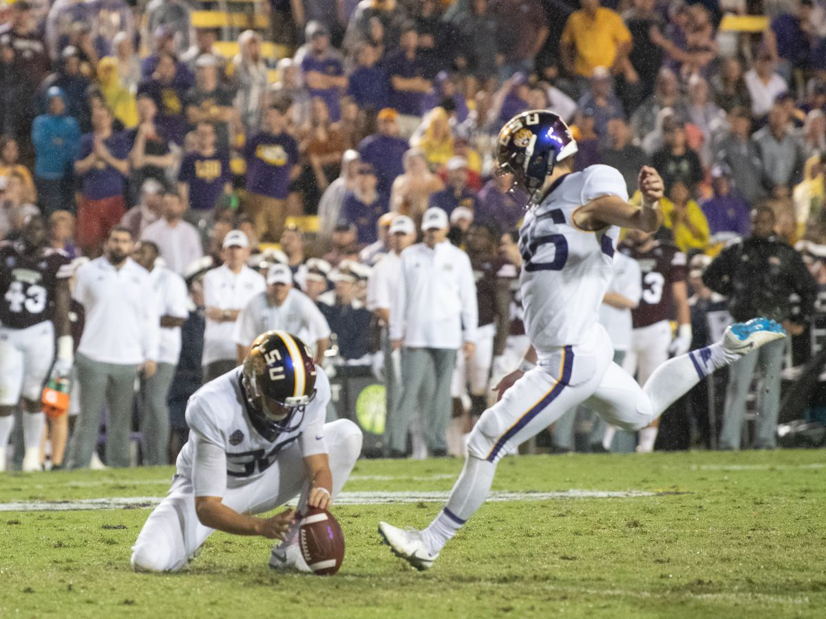 Defense, Cole Tracy lead LSU to 19-3 homecoming win over MSU