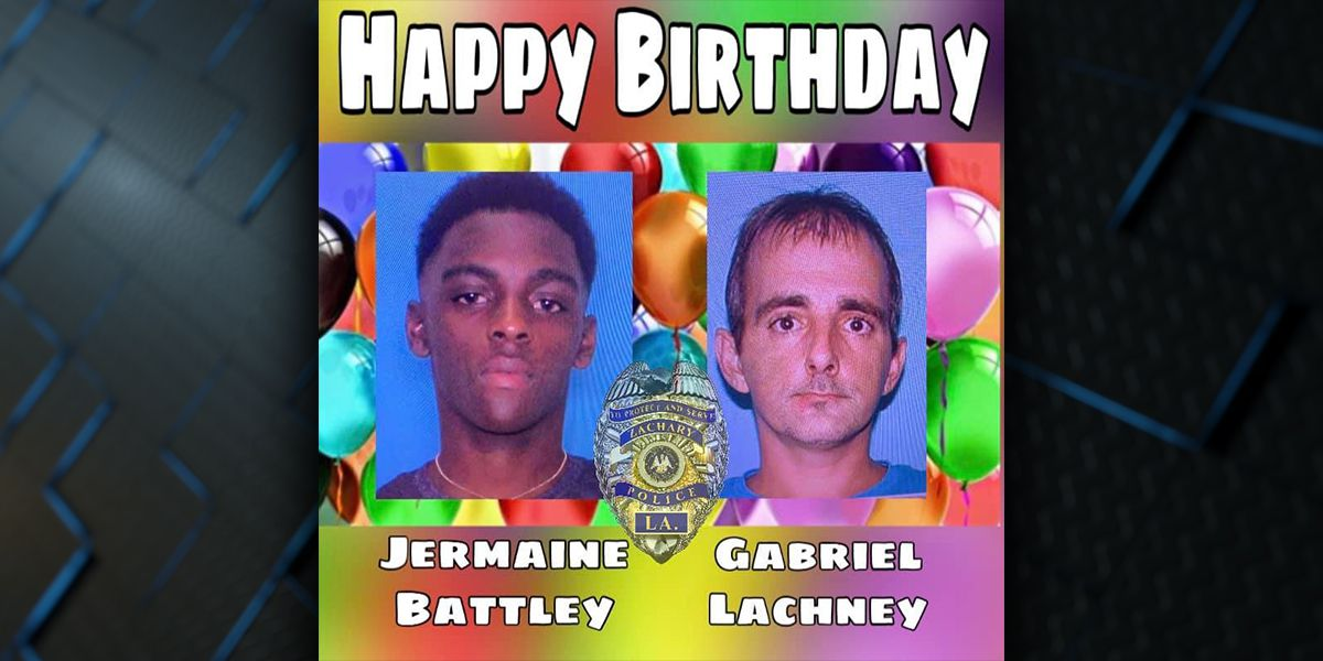 #OperationBirthdayBlast: Zachary PD uses social media to find wanted criminals