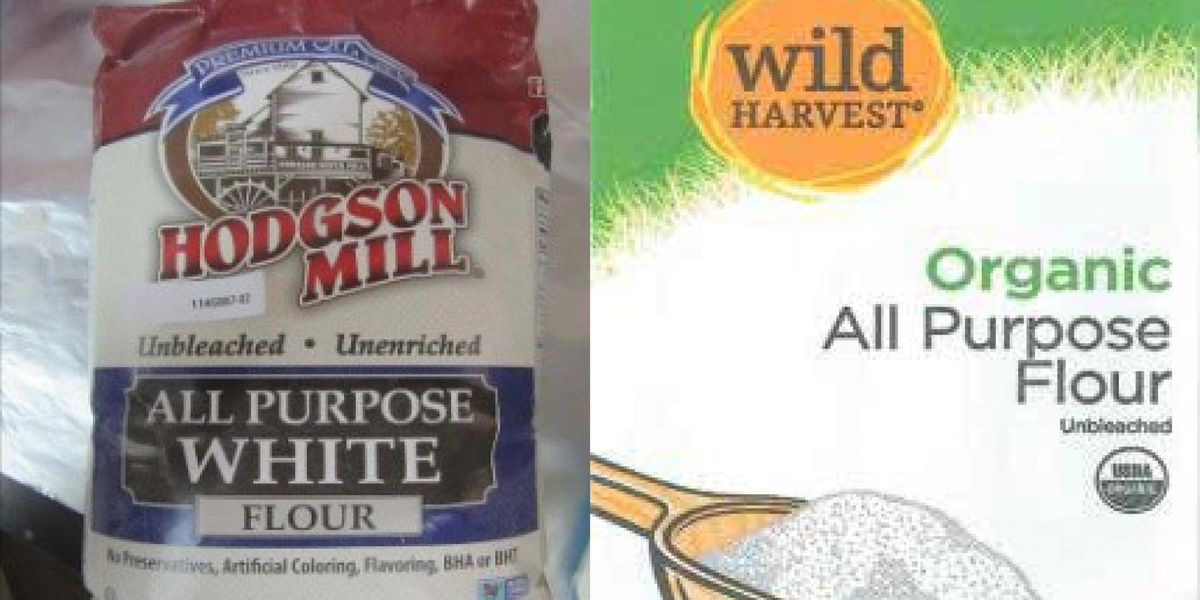 RECALL ALERT: Two brands of white flour may contain E.coli