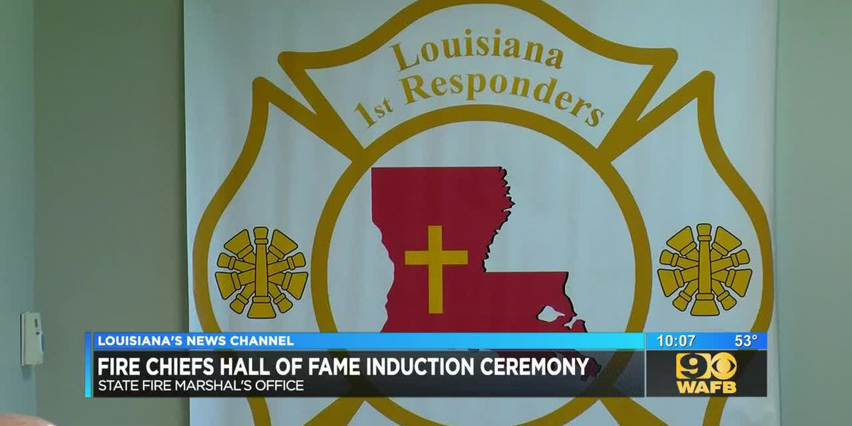Four inducted into Louisiana Fire Chiefs Hall of Fame