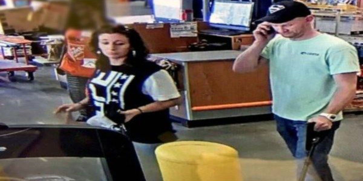 Walker PD seeks identities of 2 persons of interest in stolen credit card case