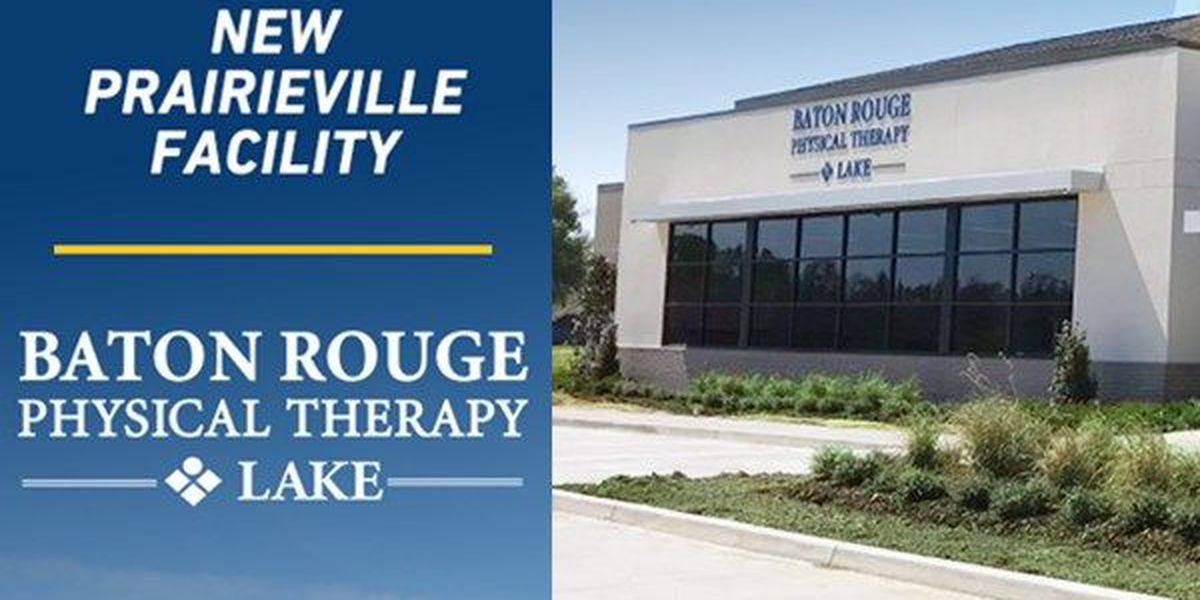 Baton Rouge Physical Therapy-Lake celebrates 55 years and new clinic location