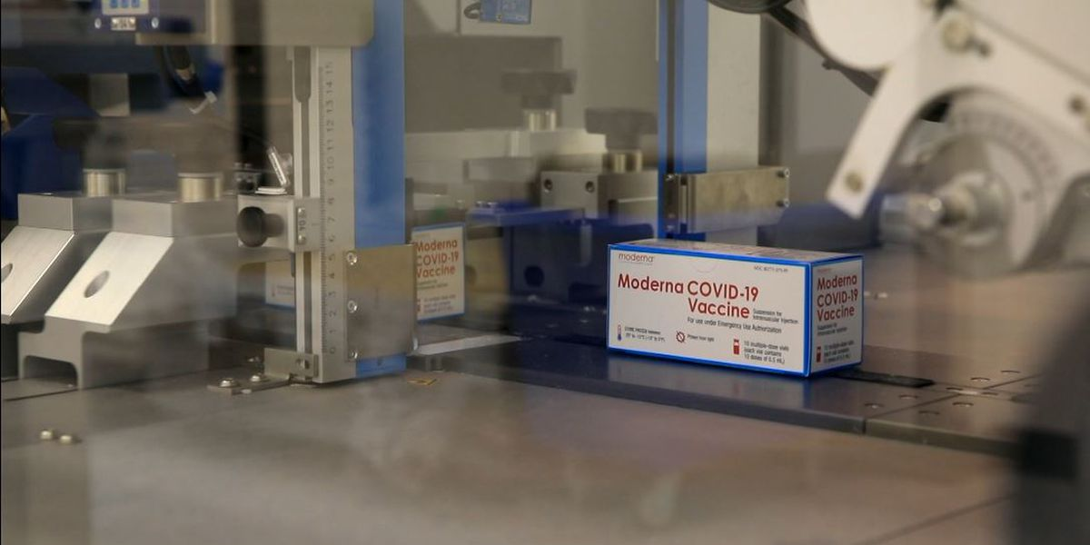 Moderna ups COVID vaccine production