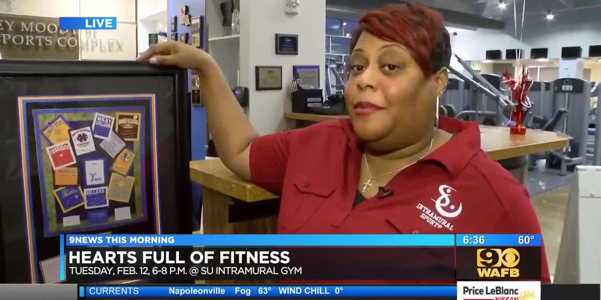 Southern University to host heart health fitness event - 6:30 a.m.