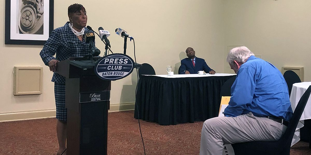 Fields, Smith square off in testy Senate District 14 candidate forum