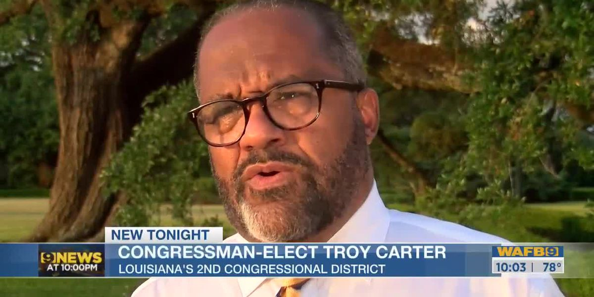 Congressman-elect Troy Carter talks about governor easing COVID restrictions
