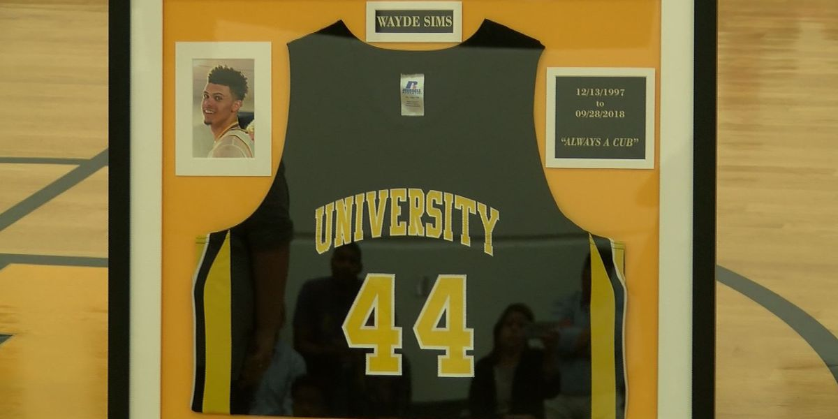 U-High holds jersey retirement ceremony for late Wayde Sims