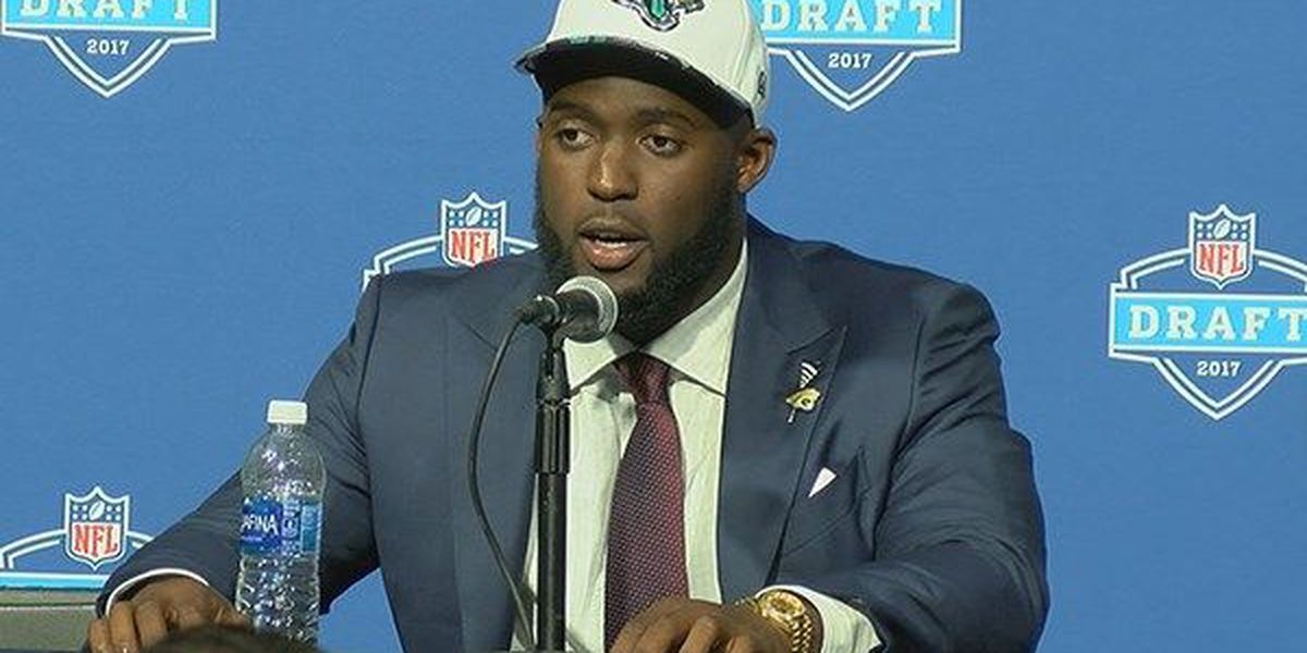 Leonard Fournette drafted in the first round by the Jacksonville Jaguars