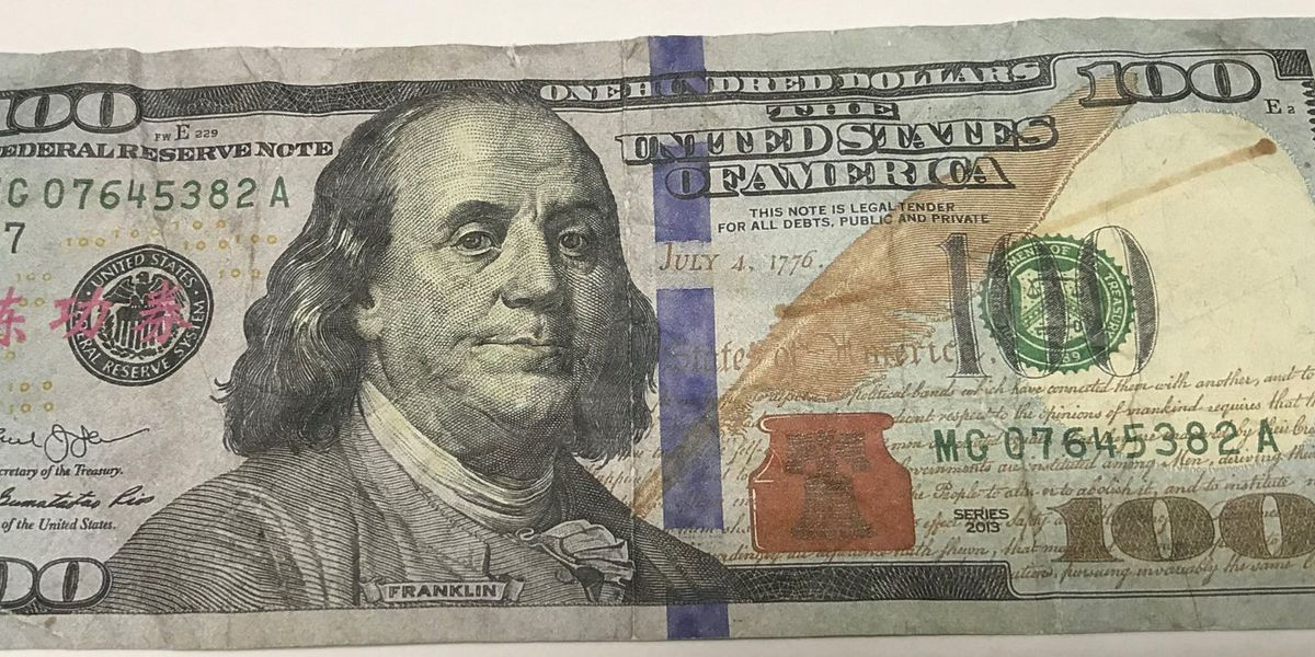 DeRidder Police urge residents to watch out for fake money