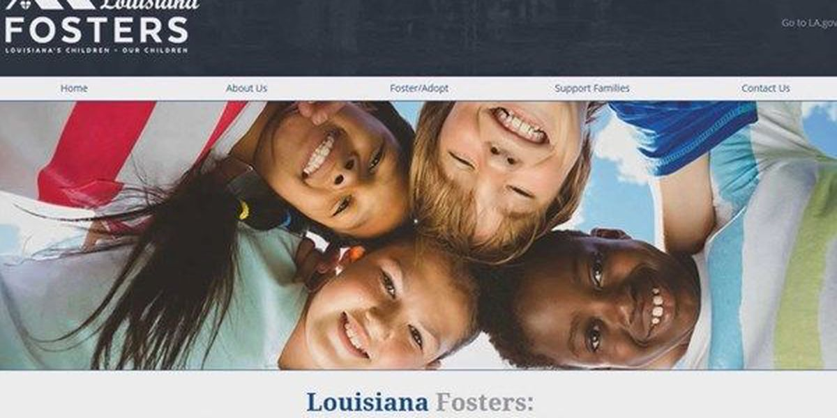 La. First Lady launches website aimed at helping foster families and children
