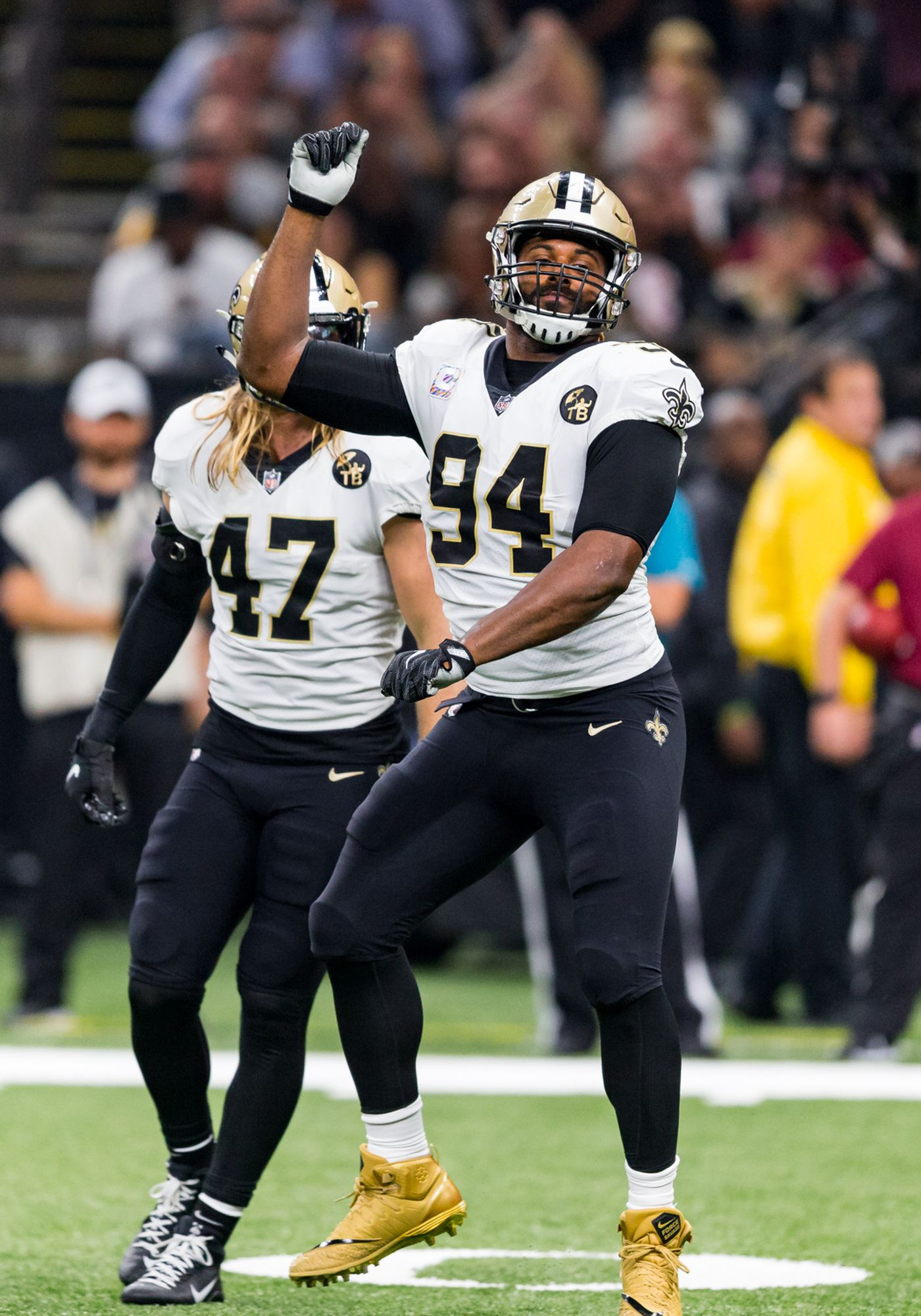 online retailer cee89 68f15 Cam Jordan weighs in on Roger Goodell's press conference