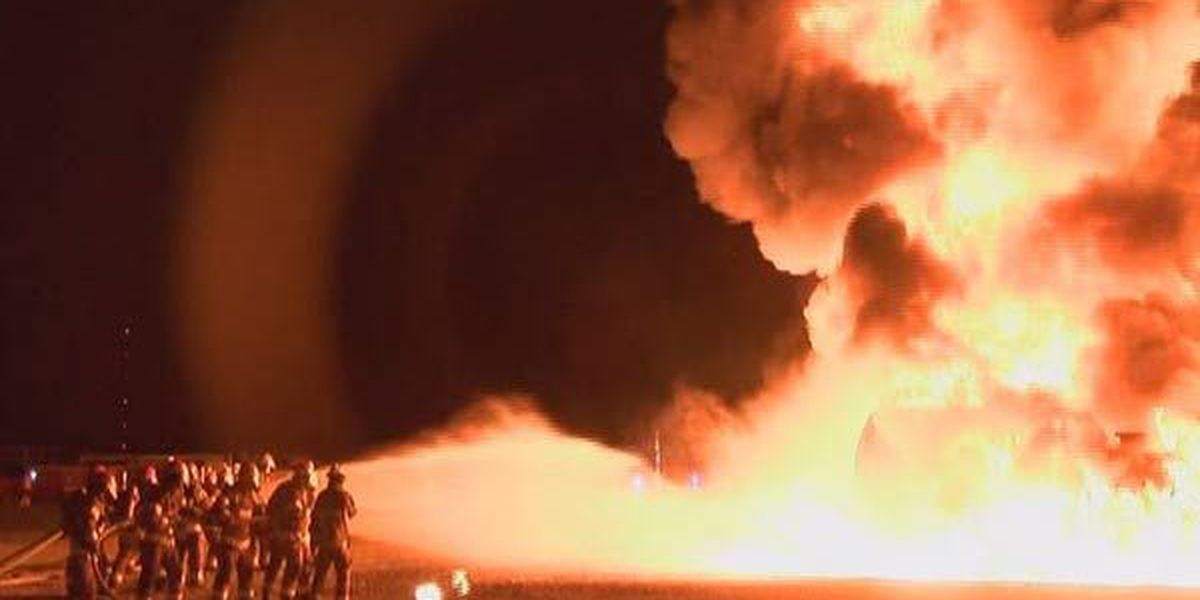 New class of Baton Rouge firefighters show their skills