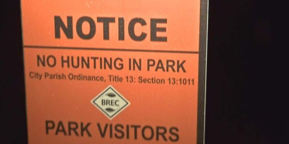 """BREC posts """"No Hunting"""" signs in parks"""
