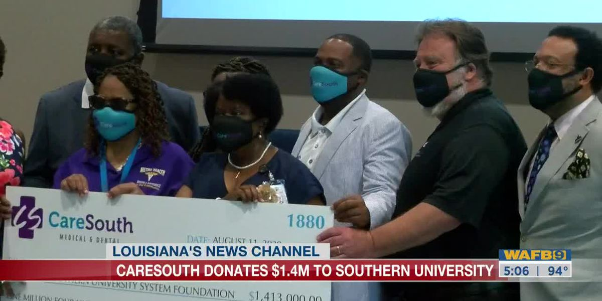 CareSouth donates $1.4M to Southern University