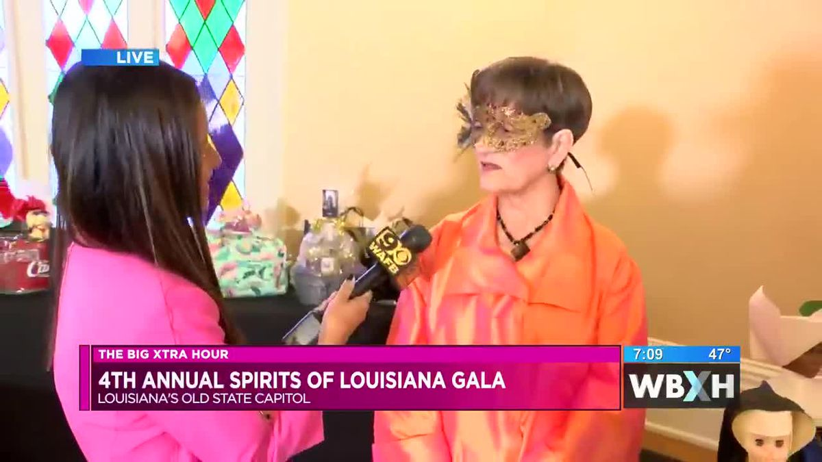 Louisiana's Old State Capitol hosts 4th Annual Spirits of Louisiana Gala - 7 a.m.