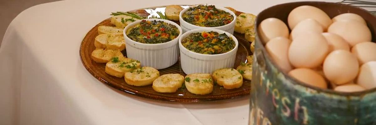 Stirrin' It Up: Spinach and Andouille Souffle (Nov. 5, 2019)
